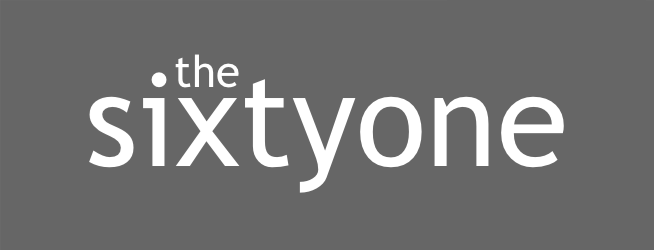 thesixtyone.com logo music website